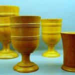 Copas dosificadoras de madera de Boj