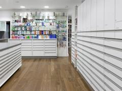 Interior de farmacia