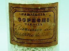 Cuerno de Ciervo en rasuras (Farmacia Ruíz de Gopegui)