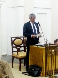 Conferencia de Juan Esteva de Sagrera