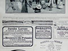 """Propaganda farmacéutica en """"La Ilustración Artística"""""""